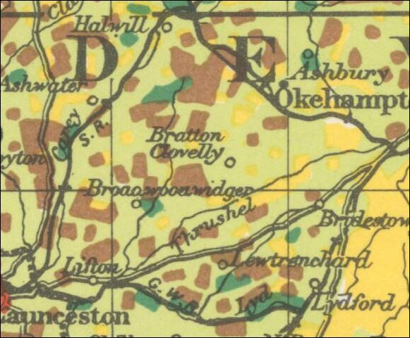 1944 Ordnance Survey Land Use Map