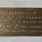 Rev Edward Seymour Memorial Plaque