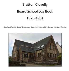 Bratton Clovelly Board School Log Book